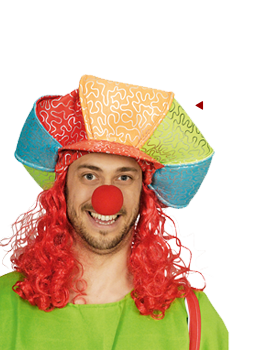 Clown Mütze Kappe clown kostuem